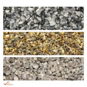 Steinteppich SET mit Marmorkies Bindemittel Versiegelung Epoxidharz Grundierung