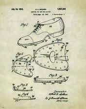 Ballet Tap Dance Patent Poster Art Print Shoes Flats Tutu Leotard Skirt PAT188