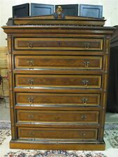 1880's Aesthetic Style 6-Drawer Chest w Egyptian Revival Details Herter Brothers
