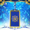 Fate Grand Order Servant PU Credit IC ID Bus Pass Room Smart Card Holder Case