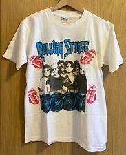 *MEGA RARE* The Rolling Stones, Tour T-Shirt STEEL WHEELS 1989, America, Size: M