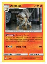 Arcanine - 6/18 - Rare - Sun & Moon: Detective Pikachu **NM** POKEMON