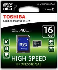 Memory card Toshiba per cellulari e palmari Classe 10