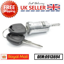 Ignition Lock Barrel And Keys For VAUXHALL ASTRA F G CORSA B C COMBO B 0913694 L