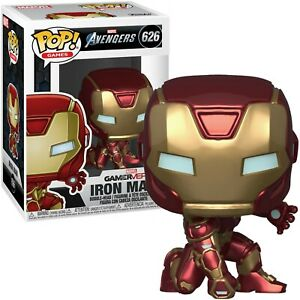 Funko Pop! MARVEL Avengers #626 Iron Man / Tony Stark Figurine in Star Tech Suit