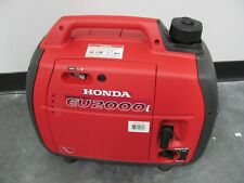 Honda EU2000i Inverter Gas Generator 2000W-1600W 120V 4-Stroke Engine GREAT!