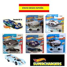 HOT WHEELS PORSCHE 917LH 918 SPYDER CARRERA EN SU BLISTER COCHES MINIATURAS