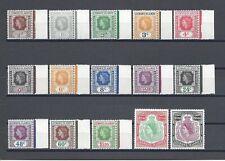 LEEWARD ISLANDS 1954 SG 126/40 MNH Cat £60