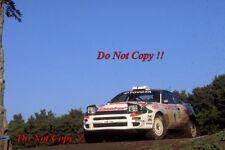 Juha Kankkunen Toyota Celica Turbo 4WD New Zealnd Rally 1994 Photograph 1