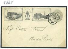 DBT287 1899 Cook & Sons Ilustrado Publicidad Postal Stationery e/Budapest
