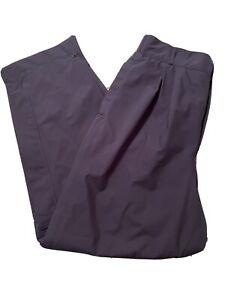 Women's ZR Zero Restriction Gore-Tex Navy Blue Pants Size Medium