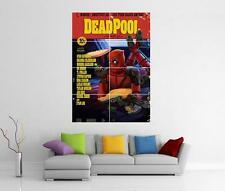 Deadpool cumple con Pulp Fiction Marvel Comic Movie Poster Gigante de pared arte Foto impresión