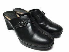 COLE HAAN Black Mules Size 8 B Made in Brazil