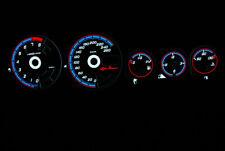 156 ALFA ROMEO glow gauges tacho plasma dials face tachoscheibe dash INDIGLO SET