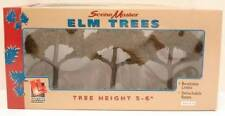 "Lifelike #1980 Elm Trees 5-6"" pack of 3 Great for HO O trains slot cars bendable"