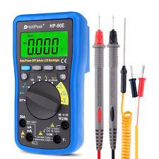 Digital Multimeter Ac Dc Volt Current Meter 4000counts Temperature Battery Test