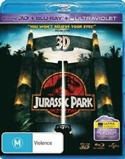 Jurassic Park 3D (3D Blu-ray/Blu-ray/UV) = NEW Blu-Ray Region B