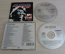 RARE 2 CD ALBUM THE BEST OF LIVE IN THE STUDIO JOE COCKER 34 TITRES 1994