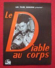 Dossier de presse de Le Diable au Corps (1947) – Gérard Philipe