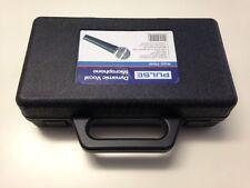 10 X Micrófono Con Funda Flightcase Para único Handheld Mic & cable/clip