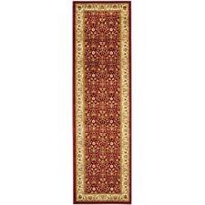 """Safavieh Lyndhurst Adelyne Traditional Oriental Rug 2'3"""" x 22' Red Long Runner"""