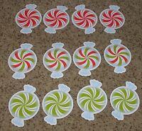 Teacher Resource: 12 Peppermint Candy Mini-Bulletin Board Accents / Cut-outs