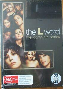 The L Word Complete Series DVD Box Set Season 1-6, 23 Discs (NEW) Region 4