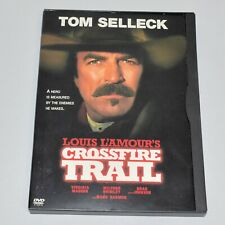 Crossfire Trail 2001 Tom Selleck Western Widescreen Region 1 DVD