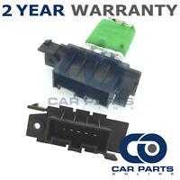 FOR VAUXHALL CORSA 1.6 VXR PETROL (2007-2015) HEATER BLOWER FAN RESISTOR