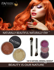 ITAY Mineral Luxury Kit Light SPF15 Foundation MF1+mb6+3Shimmers+Moisture+2Brush