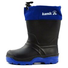 Kamik Snowkone 5 Cold Weather Boot (Toddler) Waterproof -Black/Cobalt