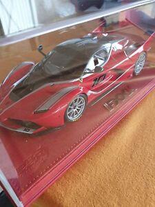 BBR Ferrari Fxx k 2014 Rouge 1/18 Echelle