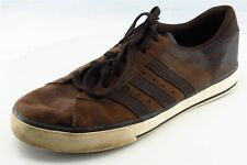 adidas Neo Shoes Size 9 M Brown Fashion Sneakers Leather Men