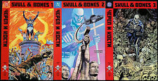 Skulls and Bones 1 2 3 DC Comics USA 1992 Ed Hannigan Alex Wald Polit Thriller
