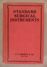 J.E. Kennedy CATALOG - circa 1920's -- standard surgical instruments - 416 pages