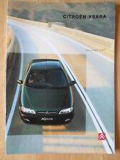 CITROEN Xsara range 1997 1998 UK Market sales brochure