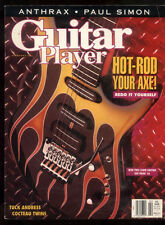 Guitar Player Magazine February 1991 Anthrax Paul Simon Tuck Andress  ***9