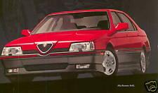 Alfa Romeo 164 Dvd Manual, Manuals 1991, 1992 & 1993