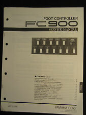 Yamaha Foot Controller FC900 Service Manual Schematics Parts List FC-900 OEM