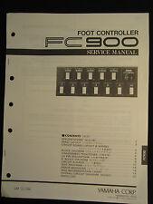 Yamaha Foot Controller FC900 Service Manual Schematics Parts List FC-900 OEM