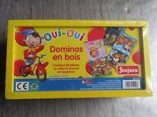 Dominos en bois Oui Oui JEUJURA coffret NEUF sous cellophane