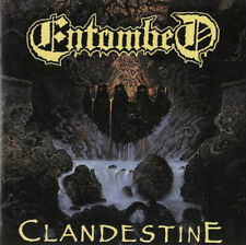 Entombed - Clandestine - Earache MOSH037CDL - 1999 Reissue Remastered