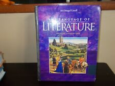 The Language of Literature by  McDougal Littell Hard Cover British Literature