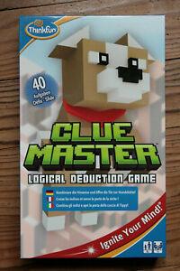 Ravensburger Thinkfun Clue Master With 40 Dare 8+ Set Logic