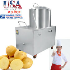 Potato Peeling Machine Auto Peeler Sweet Potato Quick Clean 15-20kg/time Canteen