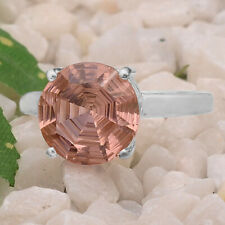 Pink Morganite 925 Sterling Silver Ring Jewelry DGR1079_F