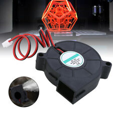 CC 12 V 2 pin estrusore per stampante 3D RepRap i3 dissipatori di calore ventola di raffreddamento radiale 50 x 50 x 15 mm Ventola di raffreddamento per stampante 3D 5015