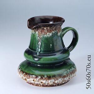 Vase Jopeko 408/16 H=15,7 cm 60s -  WGP - Fat Lava #654