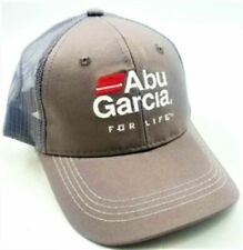 Abu Garcia Baseball Style Fishing Cap (Gray)