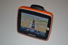 TOMTOM Navigatore Start Classic IQ Arancione centrale EUROPA 19 Paesi GPS NUOVO